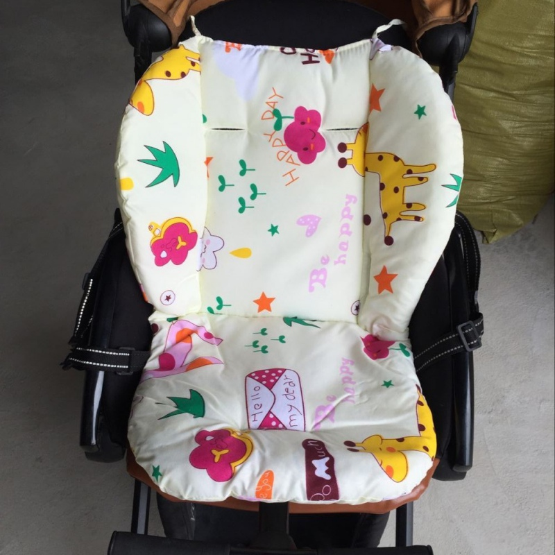 Baby Stroller Seat Cushion Stroller Pad Mattresses Pillow Cover Child Carriage Car Umbrella Cart Baby Car Thicken Pads Hot
