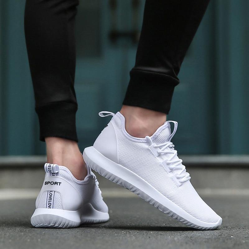 0e8bb1a9a UNN Hot Light-weight Running Shoes White Men Sport Shoes SMART CHIP Mens  Black Sneakers