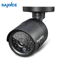 SANNCE High Resolution 900TVL CCTV Security Camera H 264 IP66 Waterproof Indoor Outdoor Surveillance Camera With