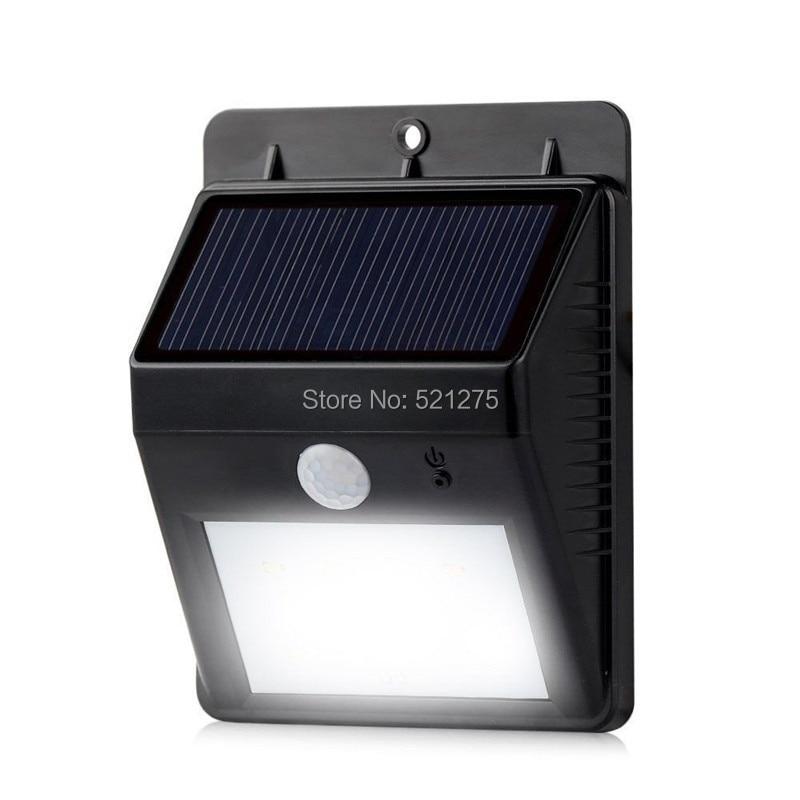 8 led luz solar del jard n l mpara solar exterior for Iluminacion de exterior solar