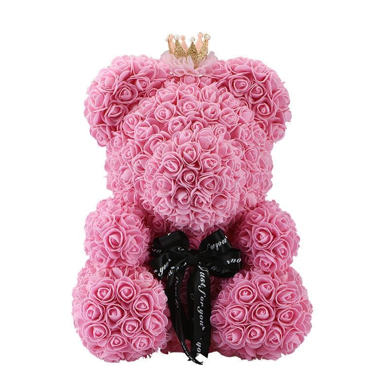 Luxury rose teddy bear 4