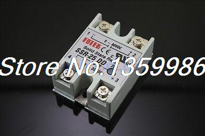 10pcs Solid State Relay SSR-25 DD DC-DC 25A 3-32VDC/5-60VDC normally open single phase solid state relay ssr mgr 1 d48120 120a control dc ac 24 480v