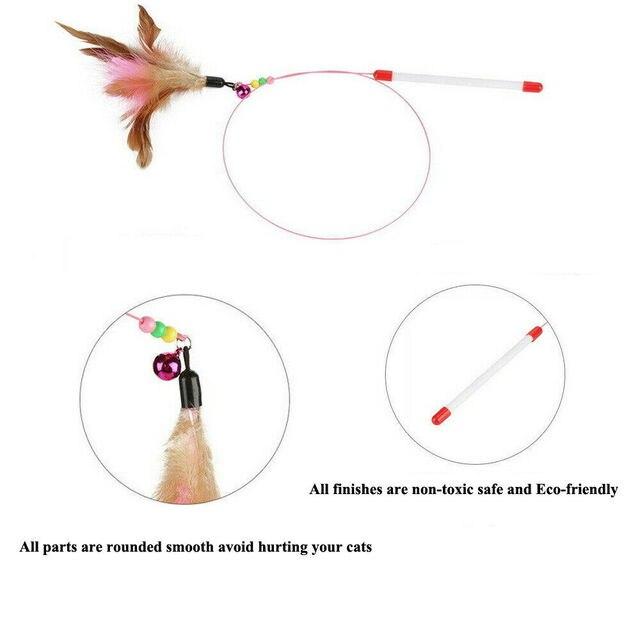 Jouet interactif baguette plume & clochette 5