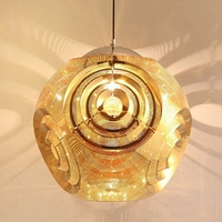 LuKLoy Stainless Steel Ball Tom Dixon Style Modern Pendant Light Loft Hanging Pendant Lamps Hanglamp Interior Lighting Home