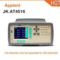 Горячие AT4516 16 канальный цифровой термометр высокого Температура регистратор данных Температура диаграмма Регистраторы