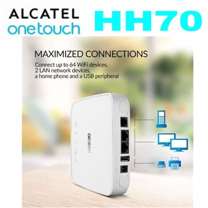 ZTE Unlocked Alcatel HH70 4G LTE 300Mbps FDD TDD Wireless Router Mobile WiFi Hotspot