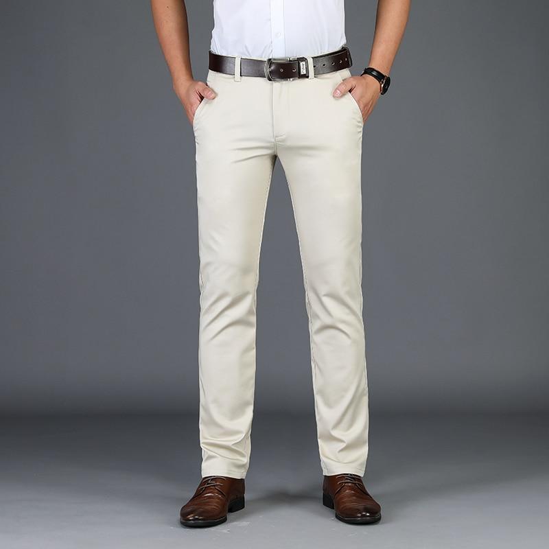 Male Jeans Men Jean Homme Men'S Classic Pants Leisure Business White Black Hombre Masculina Bike Calca Slim Fit Spijkerbroeken
