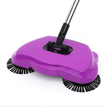 Vacuum cleaner lazy hand sweeping home broom no electric vacuum cleaner broom cleaning tool  3