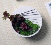 Cement Pots Of Cement Multi Flower Pots Creative Desktop Decoration Mold