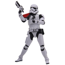 6″ Star Wars Action Figure Stormtrooper Officer First order Riot Control Black Series The Force Awakens Captain Model Toy Gifts