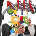 Baby Kids Plush Rattle Toys Baby Infant Teether Bed Stroller Hanging Musical Toys Cartoon Bear Baby Rattle Toys