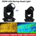 Free Shipping 4XLot YODN 17R Spot Moving Head Light AC110-250V YODN 17R 350W Moving Head Beam Gobo Wash Light For Stage Dj Light