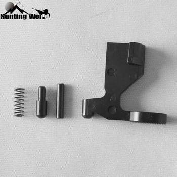 Tactical Enhanced Bolt Catch Assembly EBC Extra Wide Lever .223 Spring,detent,pin for Hunting Airsoft AR15 Rifle Accessory