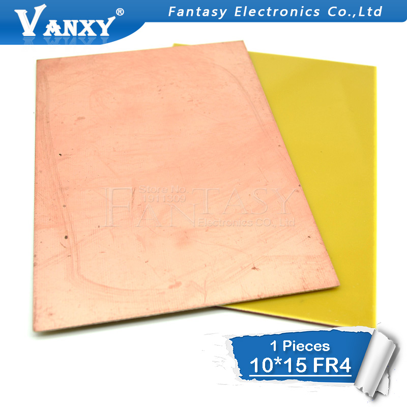 1pcs FR4 PCB  10x15cm 10*15 Single Side Copper Clad Plate DIY PCB Kit Laminate Circuit Board