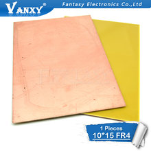 1pcs FR4 PCB 10x15cm 10*15 Single Side Copper Clad plate DIY PCB Kit Laminate Circuit Board(China)