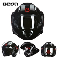 Free shipping 1pcs New Motorbike Casque Casco Off Road Helmet Lens Visor Modular Flip Up Full Open Face Motorcycle Helmet