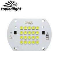 Free HK Post Shipping 60 120W Cree XP L White 6500K Led Emitter Light 30 33V