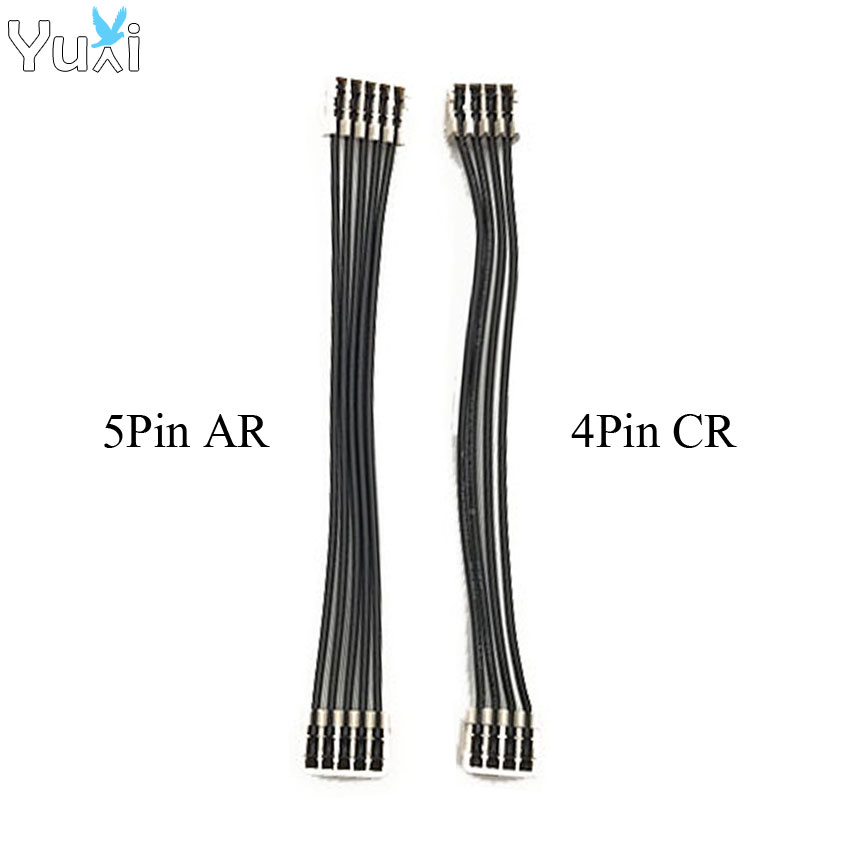 YuXi For Sony PS4 5Pin 4Pin Power Supply Connection Cable For AR CR Power Pulled For PlayStation4 PS4 Controller