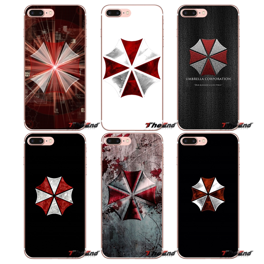 Half-wrapped Case Official Website Resident Evil Umbrella Logo Soft Case Cover For Sony Xperia M2 M4 M5 E3 T3 Xa Aqua Z Z1 Z2 Z3 Z5 Compact Lg G4 G5 G3 G2 Mini Phone Bags & Cases