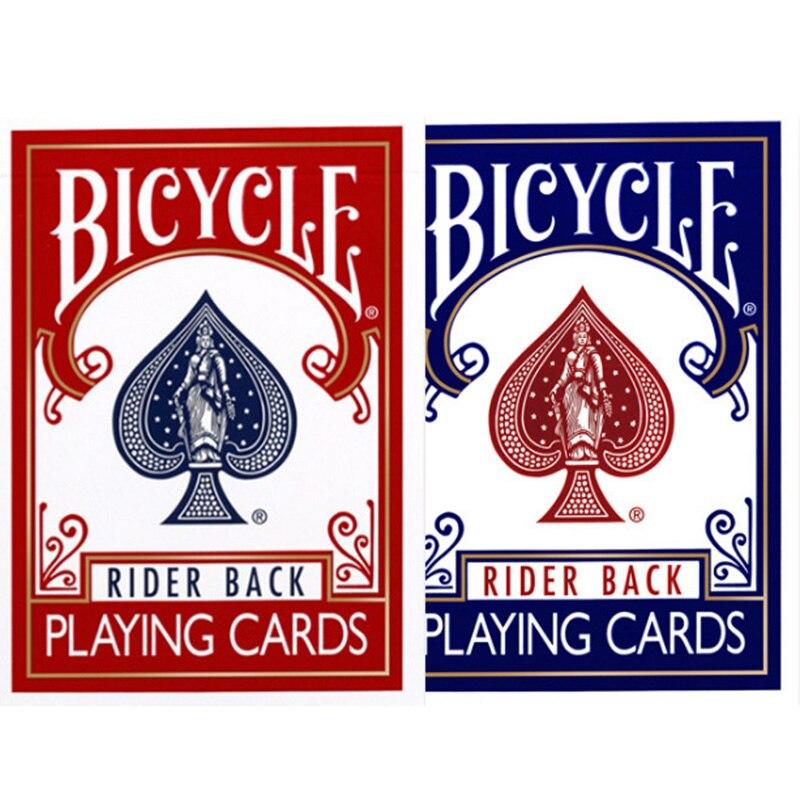 Original Bicycle Poker Red/Blue Bicycle Regular Playing Cards Rider Back Old Version Sealed Decks Magic Playing Cards