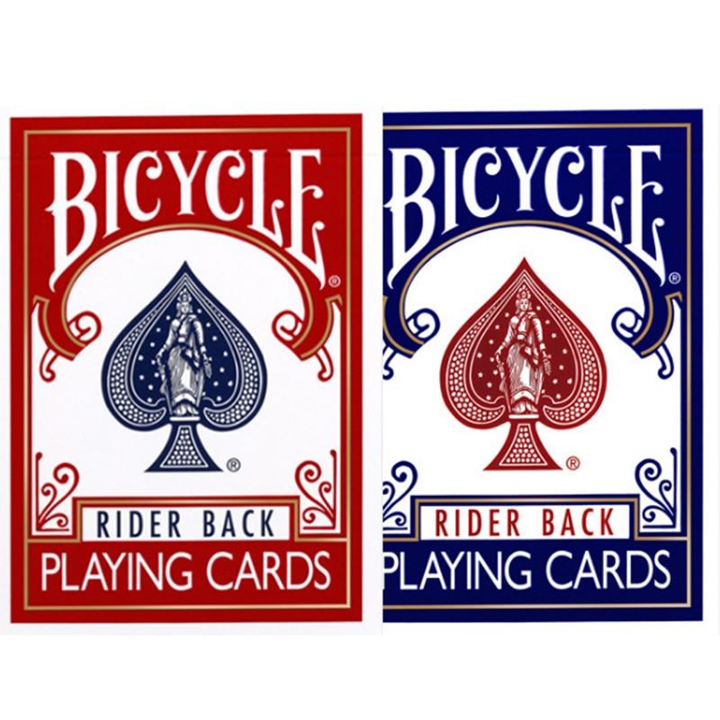 Original Fahrrad Poker Rot/Blau Fahrrad Regelmäßige Spielkarten Reiter Zurück Alten Version Versiegelt Decks Magie Spielkarten