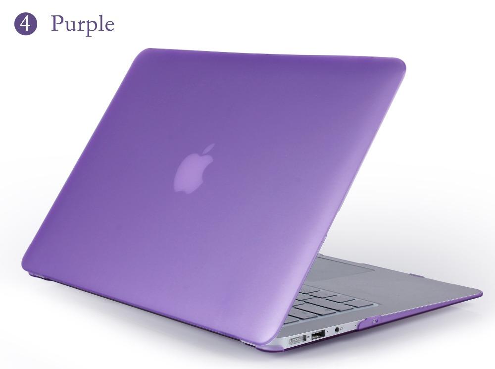 JUNWER CrystalMatte Transparent Case For Apple Macbook Air Pro Retina 11 12 13.3 15 For Macbook Air 13 A1932 Laptop Case Cover 22