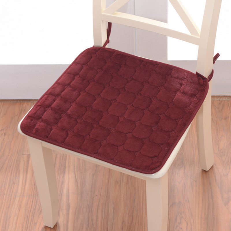 Europe 4 Colors Available Chair Cushion Home Office Warm