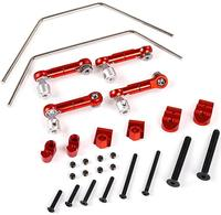 CNC Metal sway bar set for 1/5 hpi rovan km baja 5b 5t 5sc ss rc car parts
