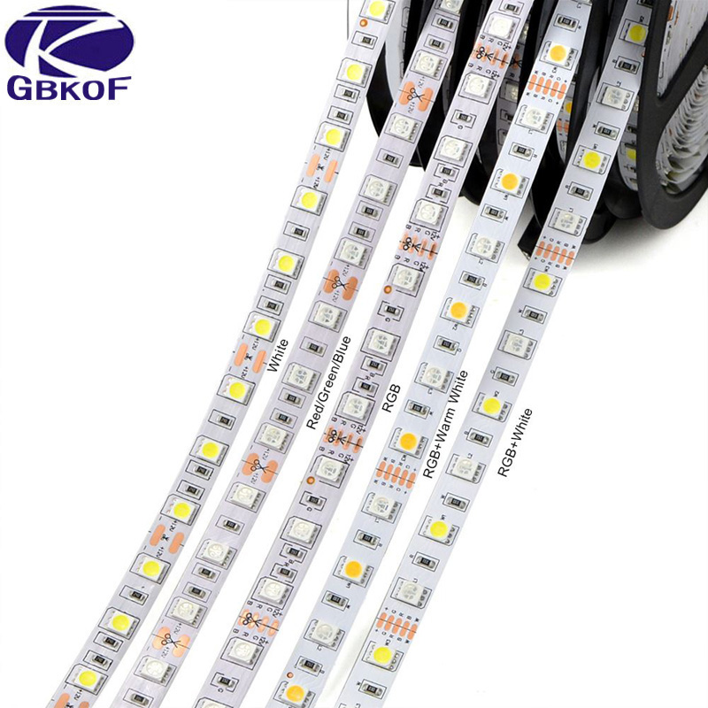 RGB RGBW RGBWW LED Strip Waterproof 300LED Led Flexible Strip Light 5050 Smd Led Tape Colorful Led Ribbon For Living Room Garden