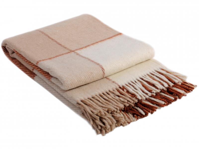 Plaid Euro VLADI, Elf, 200*220 cm, beige bed linen ethel s euro cacti 200 × 217 cm 220x240 cm 70x70 cm 2 pcs 100% chl calico 125g m²