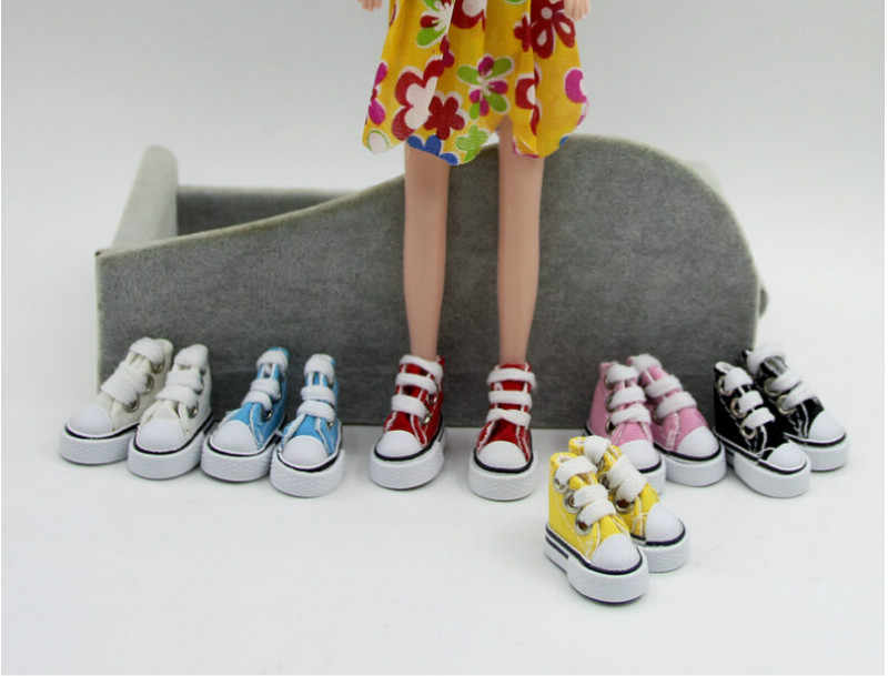 1 пара джинсовой парусиновой обуви обувь для BJD игрушечная мини-кукла обувь для кукла Шэрон сапоги куклы кроссовки для куклы аксессуары для куклы Барби