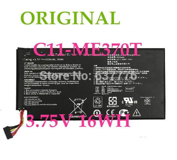original battery C11 ME370T Laptop Battery For Asus Nexus 7 8GB 16GB 32GB Rating 3 7V