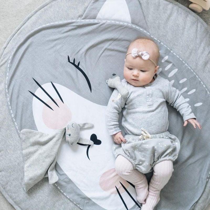New Baby Play Mats Cute Cat Koala Bear Print Kamimi