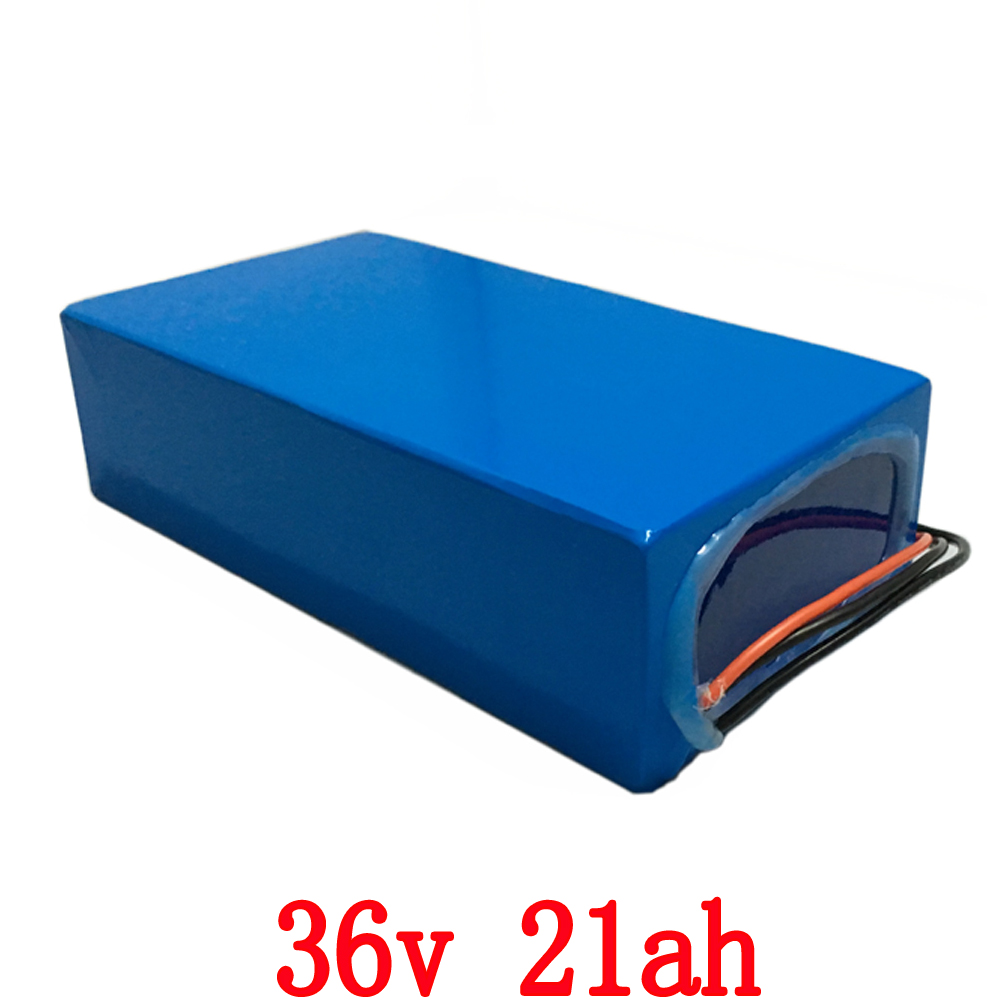 Bike Battery 36v 20.3Ah 1000w use  for  Panasonic 2900mAh  Cell with 2A Charger 30A BMS Lithium Battery 36v Free Shipping free customs taxe 36v 1000w triangle e bike battery 36v 40ah lithium ion battery pack with 30a bms charger for panasonic cell