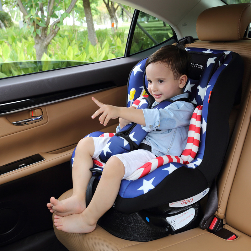 Child safety seat car baby portable 9 months 0 - 3 - 7 years of age 4 - 12 car easy to lie down Hot Sale