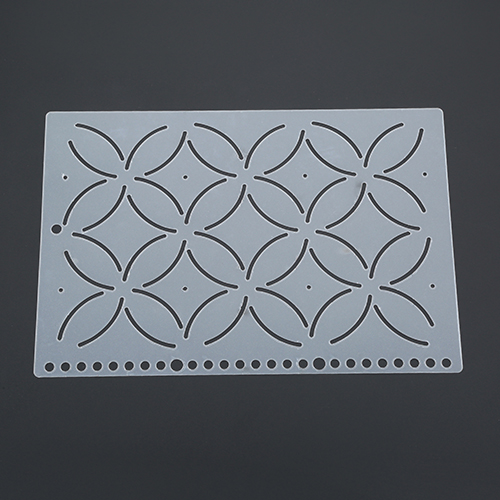 DIY Plastic Quilting Stencil Template Tool for DIY Patchwork Sewing Craft #7