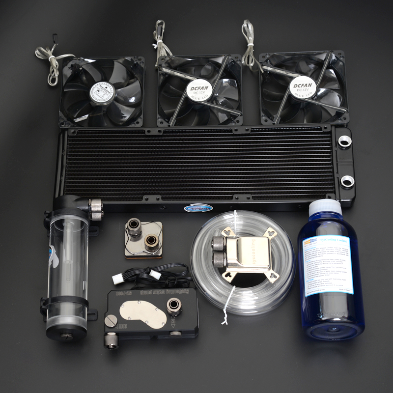 все цены на Syscooling high quality water cooling system radiating kit for computer cpu vga онлайн