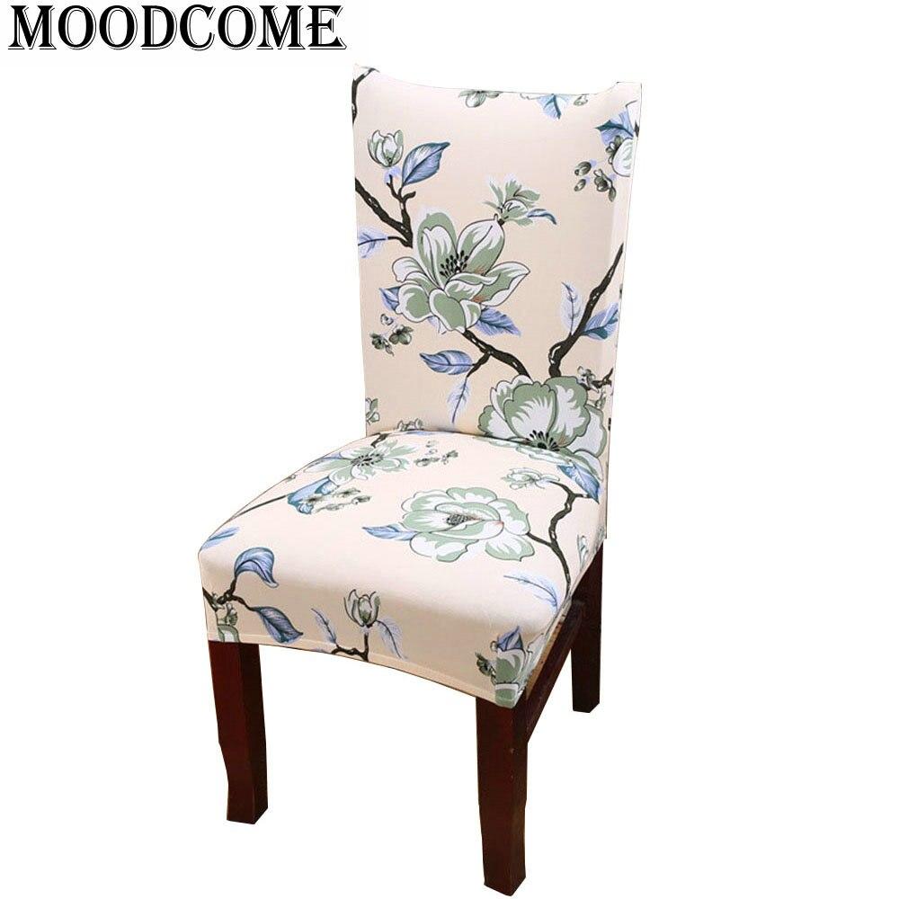 Чехлы стул старинные украшения дома крышка стула упругой в богемном стиле крышка стула спандекс