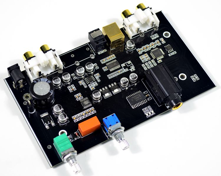 Assembly Fiber <font><b>optic</b></font> USB decoder <font><b>board</b></font> HiFi PCM5100 USB <font><b>DAC</b></font> Decoder <font><b>Board</b></font> New image