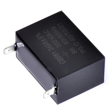 1pc CBB61 Capacitor 24uF 350V AC Small Gasoline Generator Capacitors Electrical Supplies 56 40 27mm For