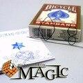 Envío libre!! memoria De Alambre De Metal Fuego Predicción 8 de Diamantes/trucos de magia de la calle de cerca tarjeta profesional productos/