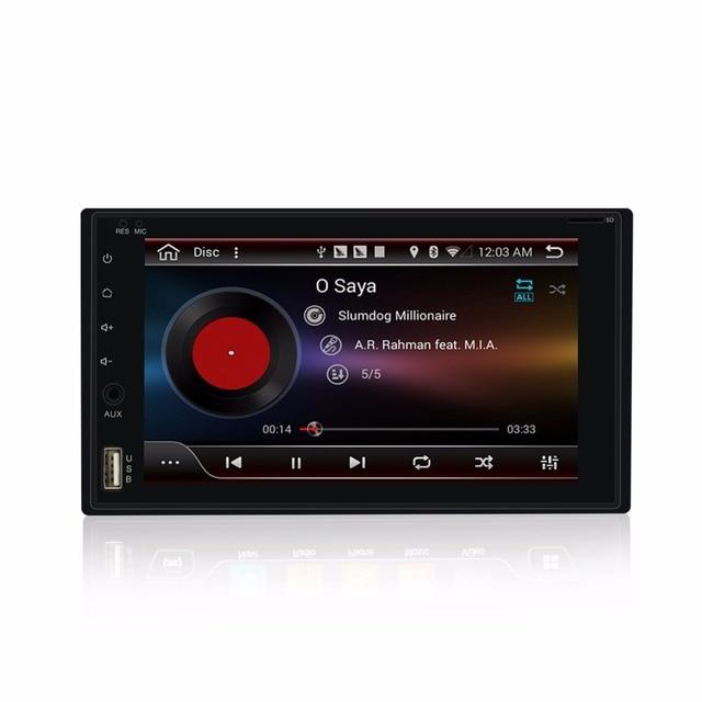 "KLYDE 6.2 ""2 din Universal Full touch Android 8.1 núcleo Android 7.1 gb RAM 2 8 Capacitiva multi- rádio Do Carro da tela de toque"