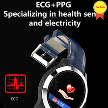 2019 original  ECG PPG smartband heart rate monitor ECG near medical grade IP67 waterproof electrocardiograph smartwatch for IOS