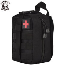 SINAIRSOFT Outdoor Tactical Medical -laukut MOLLE Tactical Medical -laukku EDC Survival Emergency First Aid -laukut Vyötäröpakkaus RS0301