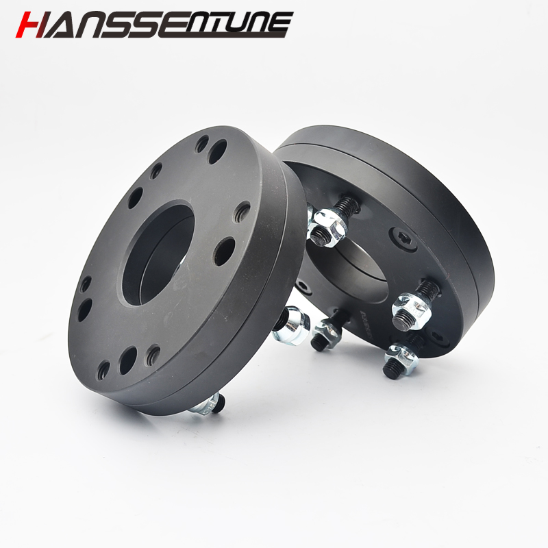 HANSSENTUNE 4PCS Forged Car Wheel Adapter <font><b>5x139.7</b></font> to 6x139.7 38mm aluminum wheel spacers 67.1CB image