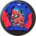 Envío Gratis 6 unids/lote Spiderman Camisetas para 4-7años de Los Bebés