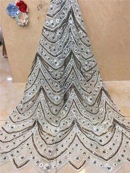 Elegant Burgundy Wine Wholesale Bridal Nigerian Lace Fabrics White Gold Peach African French Lace Fabric for Wedding Dress