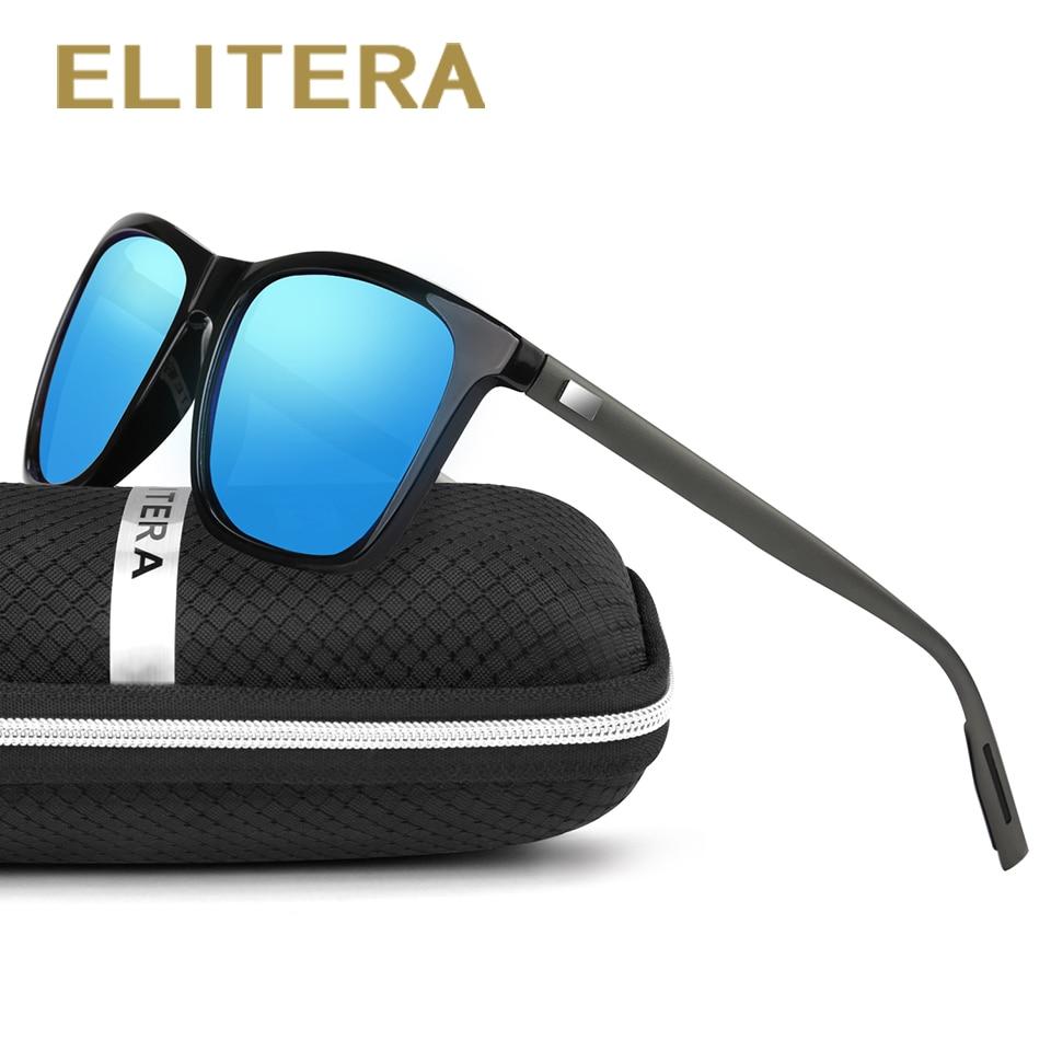ELITERA vasaras alumīnija polarizēta zīmola dizainera saulesbrilles vīriešiem sporta Vintage saulesbrilles Eyewear oculos de sol masculino