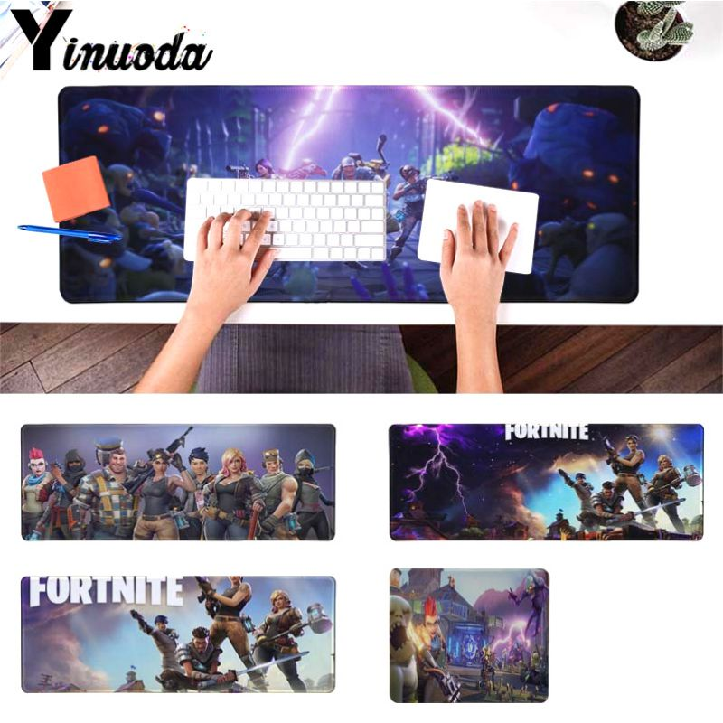 Yinuoda New Designs Fortnite game gamer play mats Mousepad Size for 180*220 200*250 250*290 300*900 and 400*900*2mm