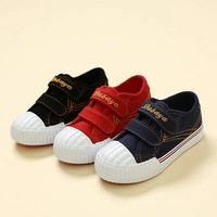 2016 Design Autumn Hook Loop Low Top Stitching Girls Classic Sneakers Kids Brand Casual Loafers Boys